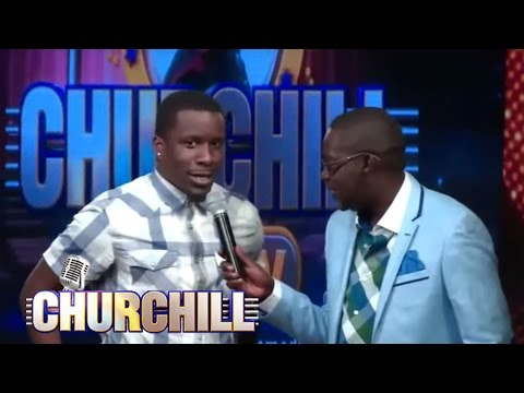 Kenyan Hollywood actor comedian On Churchill 1