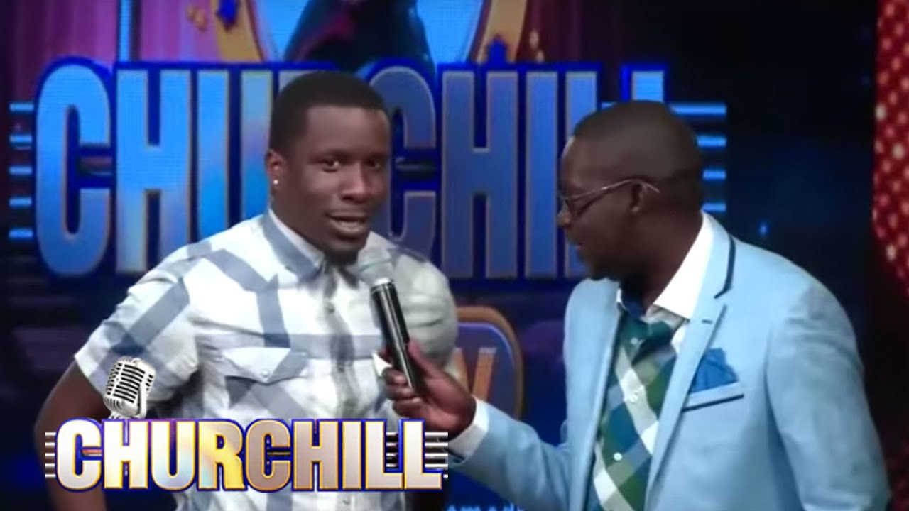 Kenyan Hollywood actor comedian On Churchill Show1