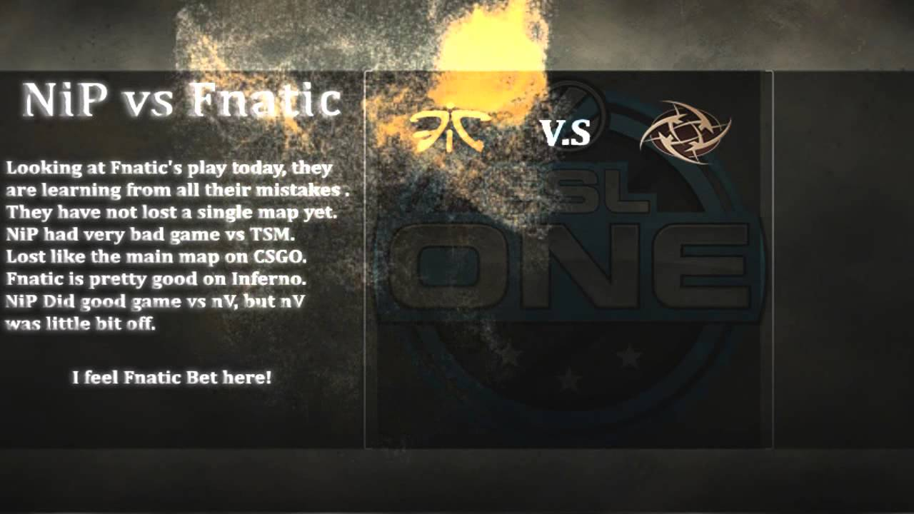 Nip vs fnatic csgo lounge betting the everything guide to sports betting
