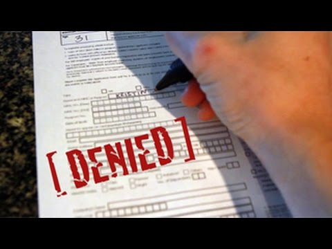 Why was my credit card application denied?