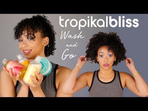 WASH n GO W/ TROPIKAL BLISS | lrt beauty