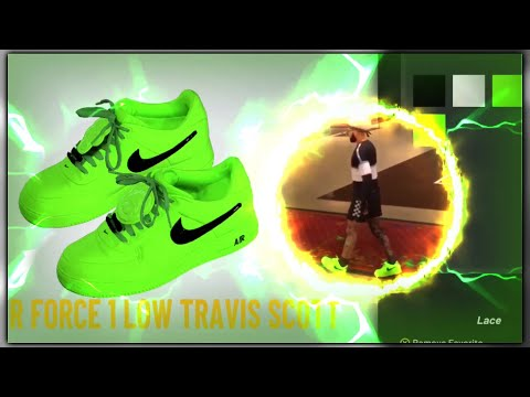 How to make *RARE* Air Force Ones in NBA 2K20! (OffWhite Airforce One Volts)