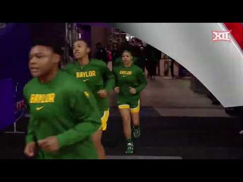 Baylor Vs Kansas State Women's Basketball Highlights