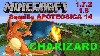 --MINECRAFT 1.7.2-1.8--Semilla APOTEOSICA 14, CHARIZARD