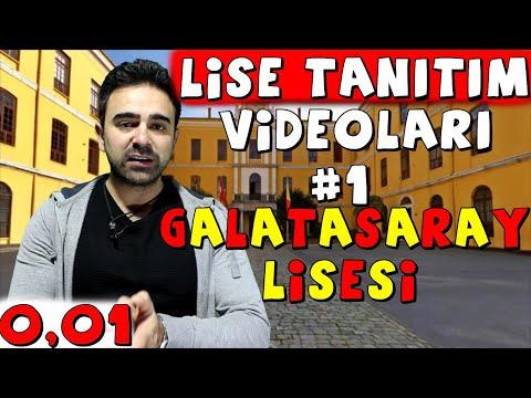 LİSE TANITIM VİDEOLARI #1 GALATASARAY LİSESİ 0,01