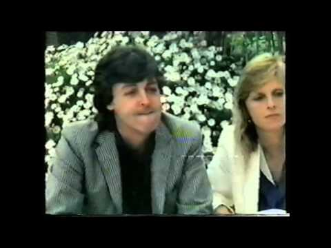 Paul & Linda McCartney Interview 1980