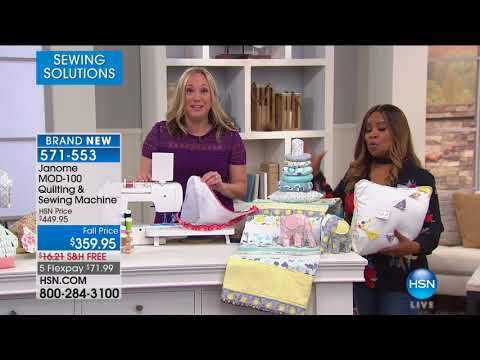 HSN | Sewing Solutions featuring Janome 09.29.2017 - 07 PM