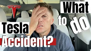 WHAT TO DO in a Tesla Accident!