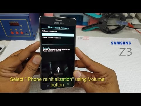 Samsung Z3 (SM Z300H ) Hard Reset And Pattern Unlock || Samsung z3 tizen  Factory Reset-HD