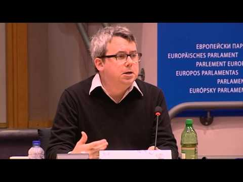 Matthew McGregor at EuroPCom 2013, Committee of the Regions
