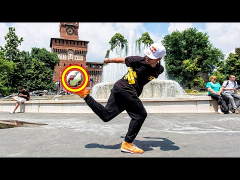 AMAZING FOOTBALL FREESTYLE SKILLS 2017