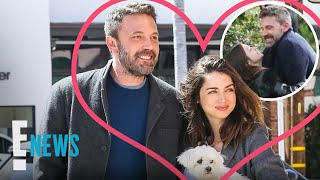 Ben Affleck & Ana de Armas PDA-Filled Walk | E! News