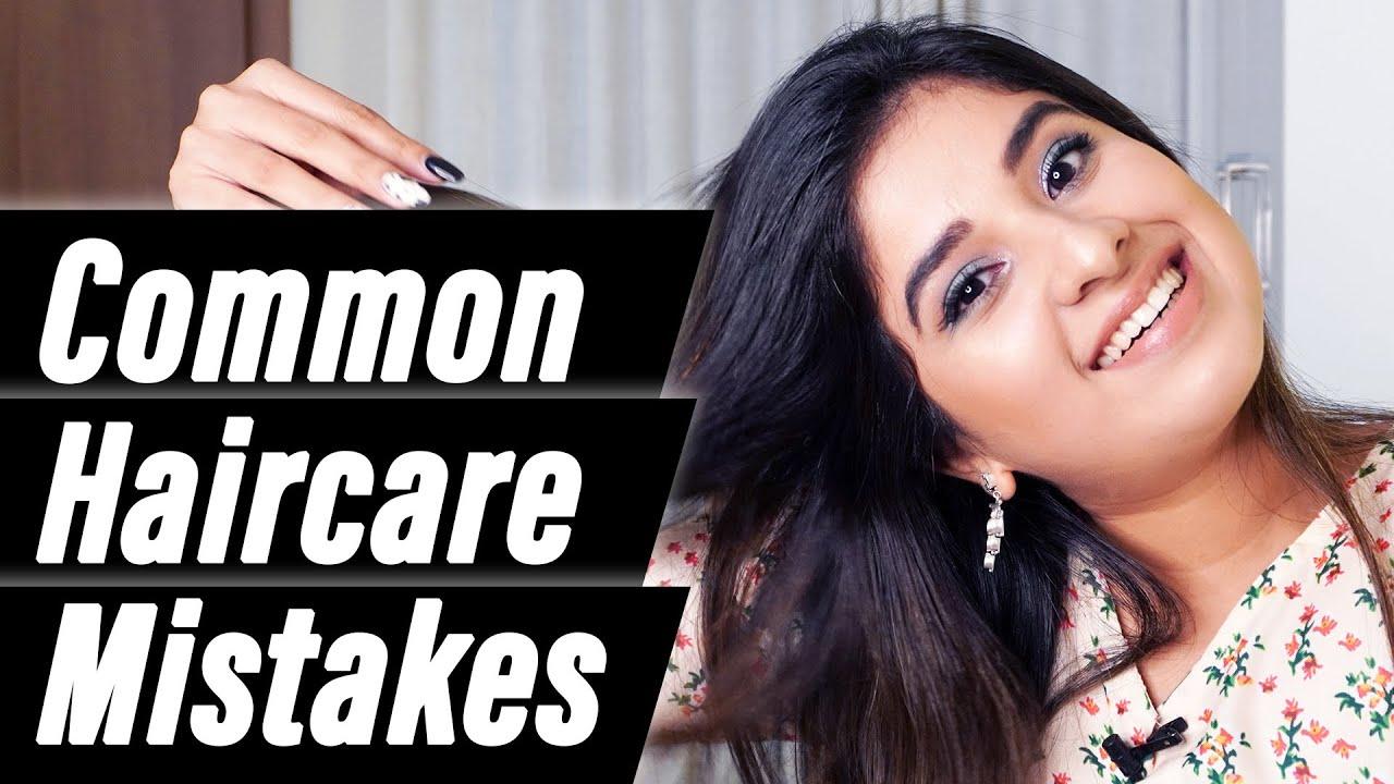 Common Haircare Mistakes to Avoid - Aparna Thomas