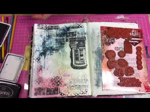 Nailed it   art journal