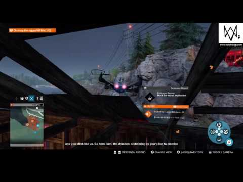 WATCH DOGS® 2 - Hacker War: Sabotage (quadcopter only)