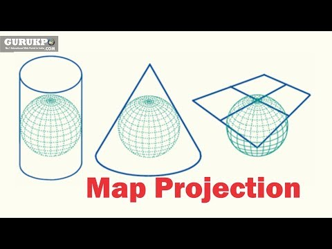 Map Projection (Geography)BA,MA Gurukpo