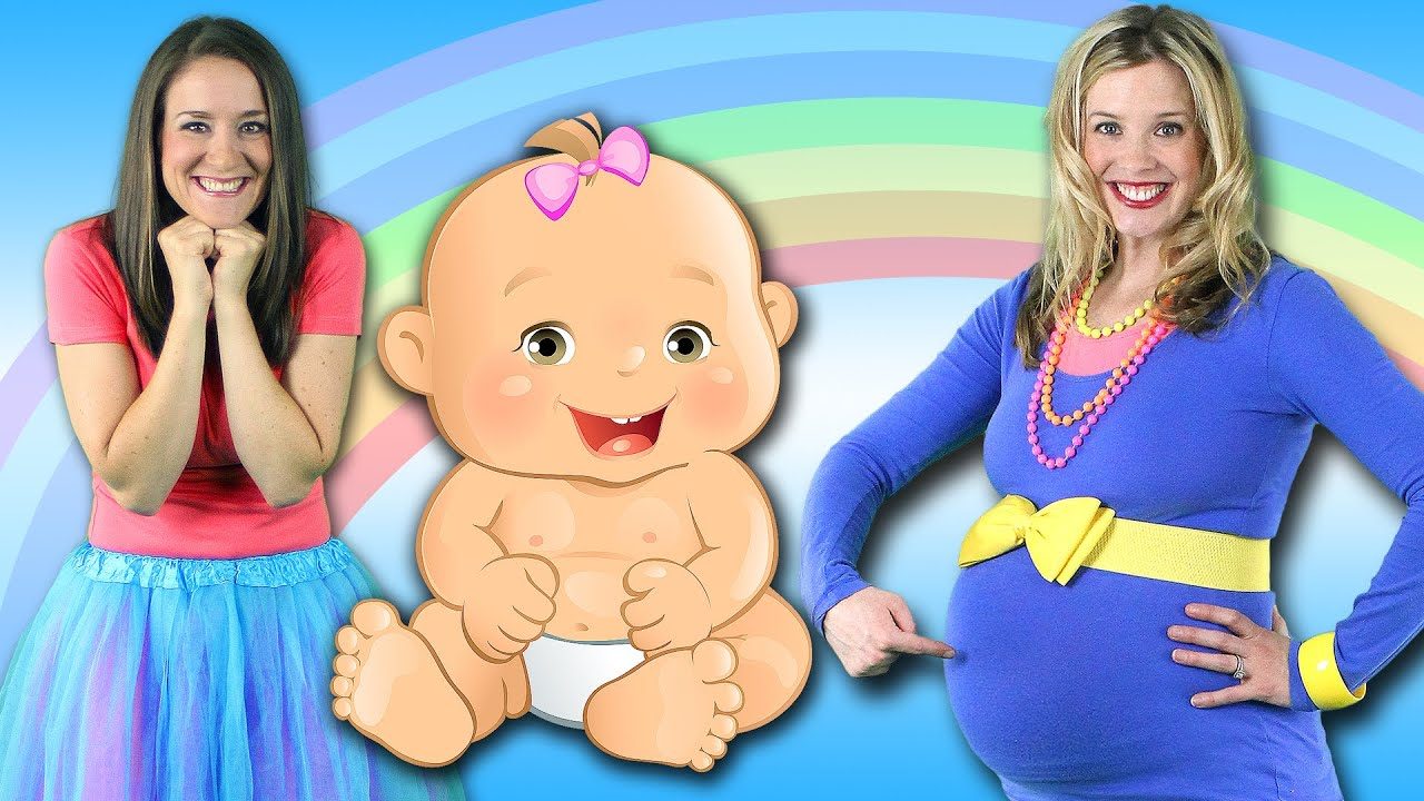 Baby Song Mommys Got A Baby In Her Belly Childrens Song For Brothers Sisters Youtube