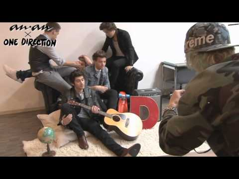 ONE DIRECTION -- photo shoot for anan 19/1/13