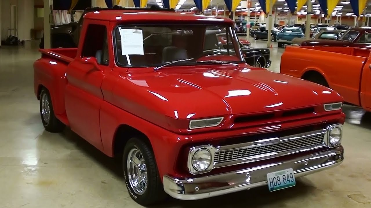 65 Chevy Pickup Wiring Diagram 1964 Chevrolet C10 Hot Rod Pickup Youtube