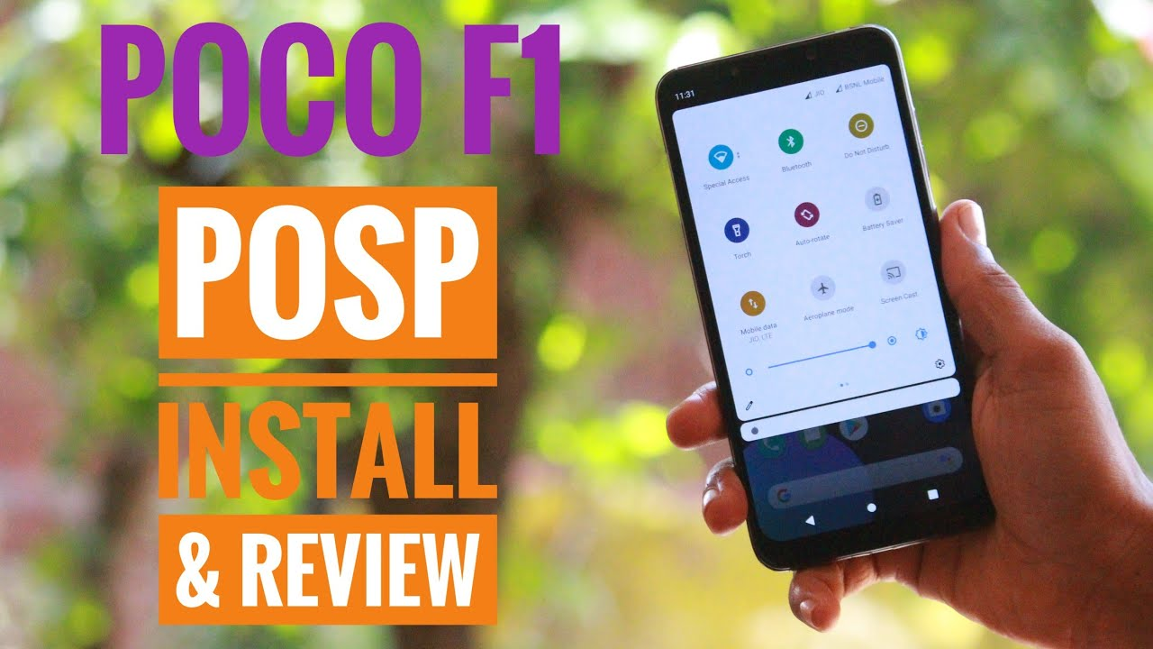 Poco F1| POSP 3.2.0 19th June Build | Install & Review | Cool Icon Pack & RGB Colour Customization