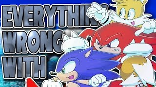 Everything Wrong With Sonic Heroes in 27 and a Half Minutes (feat. Honest Biggums)
