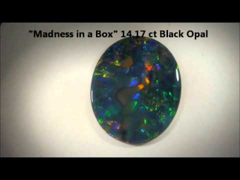 Kohala Goldsmiths 14.17 ct Black Opal