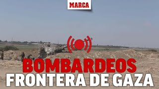 Conflicto israelí-palestino: DIRECTO I La artillería israelí bombardea Gaza, el conflicto continúa