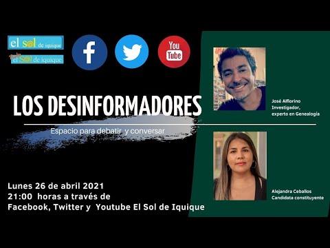 Los Desinformadores lunes 26 de abril 2021