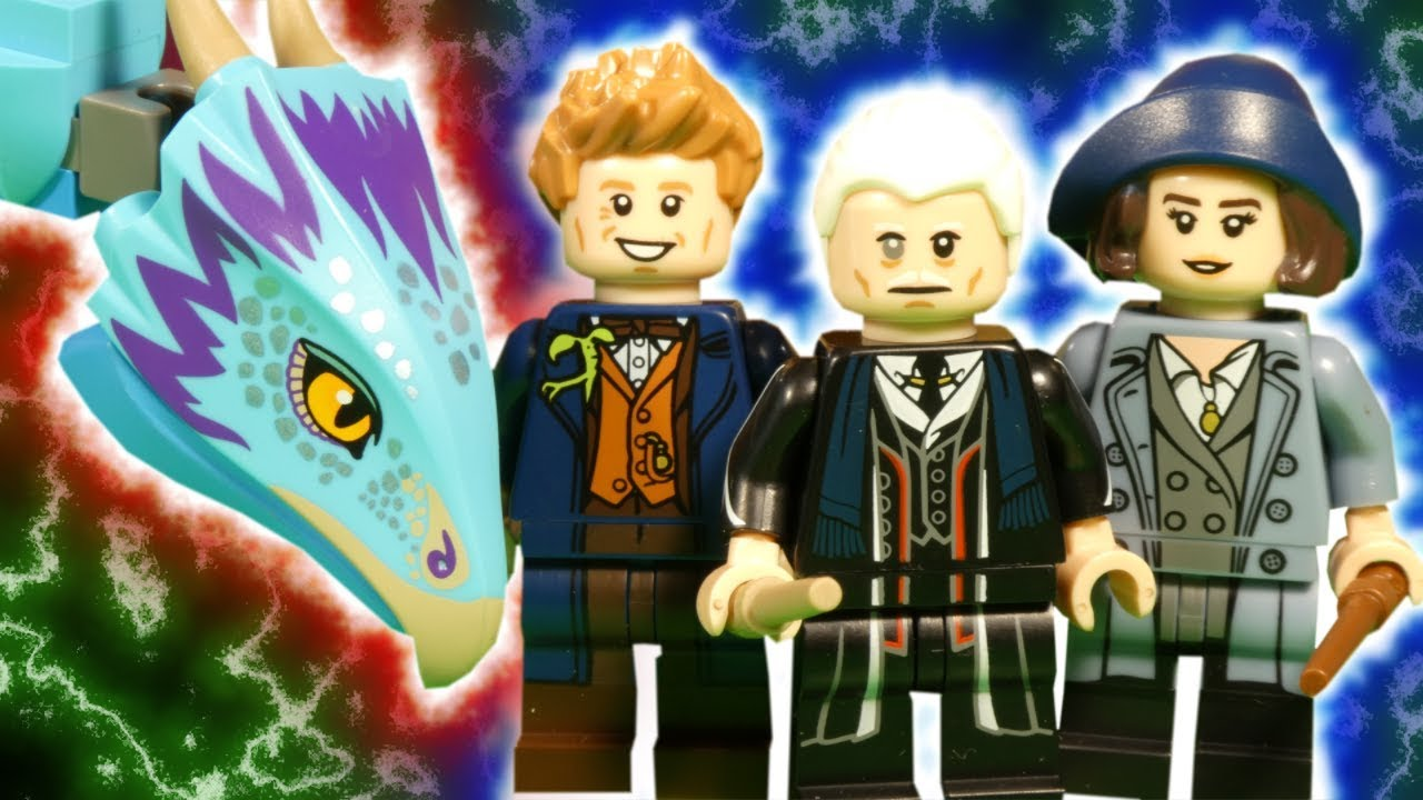 LEGO FANTASTIC BEASTS - THE CRIMES OF GRINDELWALD - WIZARDING WORLD STOP MOTION