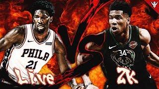 NBA Live 19 VS NBA 2K19
