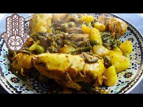 tajine-de-poulet-aux-haricots-verts-et-pommes-de-terre