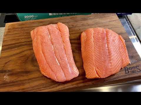 Cure Salmon Sushi/Sashimi at home!