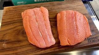 Cure Salmon Sushi/Sashimi aт home!