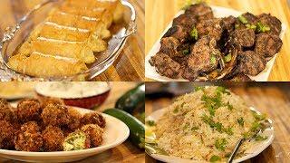 Entertaining Made Easy Menu #2: Greek Lamb Chops & More