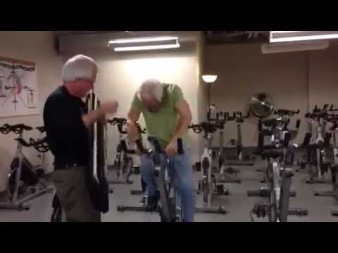 Parkinson's Indoor Cycling Class - Music Therapy at Cox Health Fitness Centers Springfield, Mo.