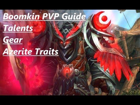 Boomkin BFA PVP Talent/Gear/Trait Guide! by Supatease