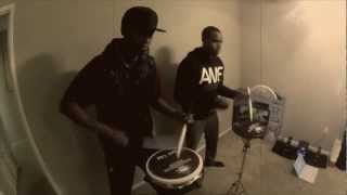 Throwing Fire - Ronald Jenkees Drum Video | BYOS