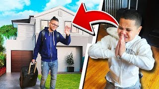 i'm MOVING OUT PRANK On Little Brother  **HE CRIED!**