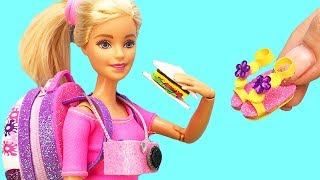 6 DIY Barbie Hacks : Miniature…