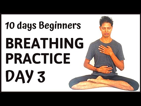 10 day Systematic Pranayama Practice day 3 - Yoga with Amit