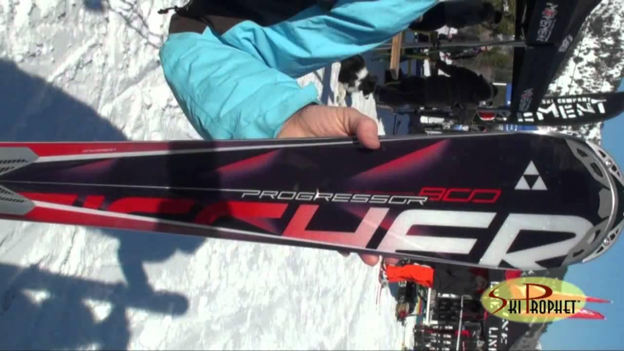 2012 fischer progressor 800 ski test by the ski prophet. Black Bedroom Furniture Sets. Home Design Ideas