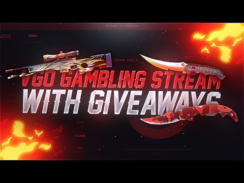 I AM BACK!! VGO GAMBLING & CASE OPENINGS WITH GIVEAWAYS