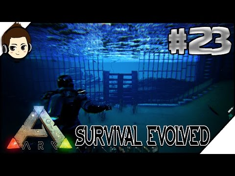 ARK Survival Indonesia Merdeka - BUAT PEMBATAS AQUARIUM #23 | RendyFizzy