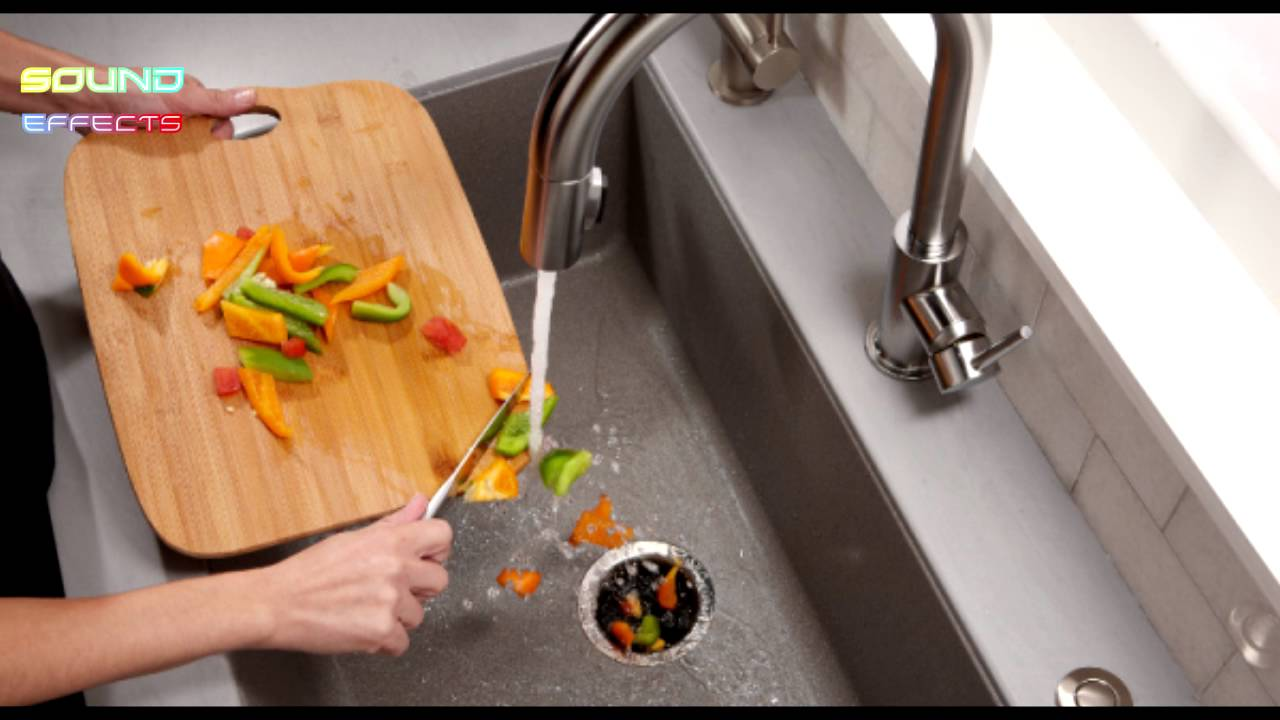 Awesome Garbage Disposal Sink Unit Sound Effect #42   YouTube