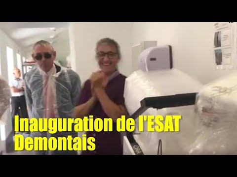 sem42 17oct   Inauguration de l'ESAT Demontais