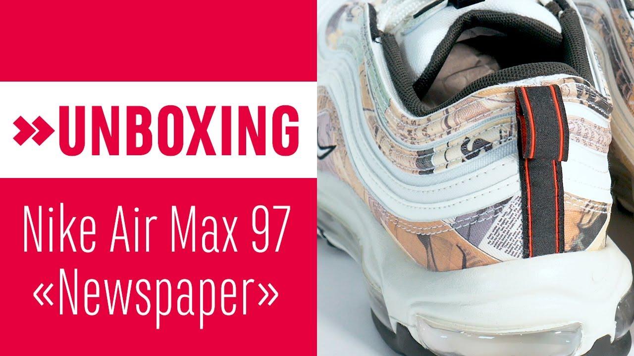 AIR MAX 97 'NEWSPAPER'