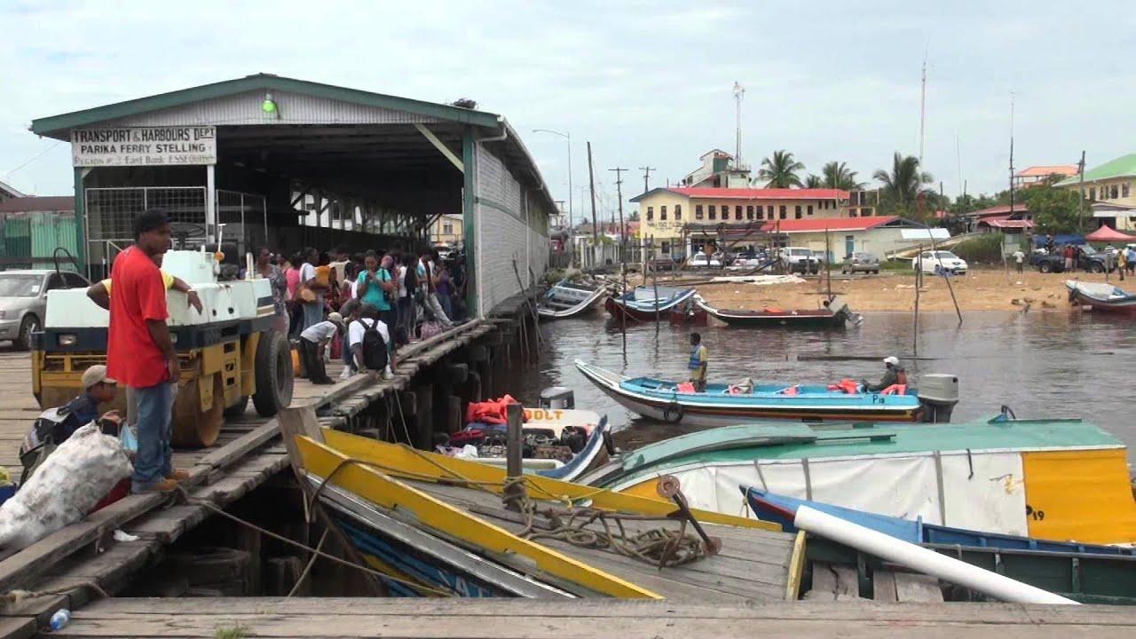 PARIKA GUYANAPARIKA TO BARTICA Essequibo River YouTube