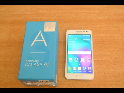 Samsung Galaxy A3 - Unboxing, Setup & First Look HD