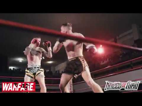 Highlights From Knees Of Fury 76 Muay Thai Kickboxing Series