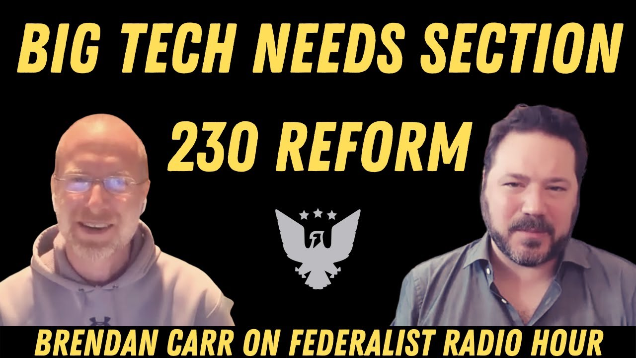 Doj Gives Congress Blueprint To Crackdown On Big Tech Censorship Newsradio 740 Ktrh